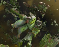 The Rests of the Green Fractal Station