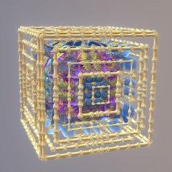 Cushion in bamboo box