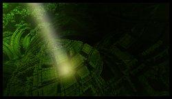 Light in the Fractal-Jungle