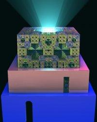 The light zigurat