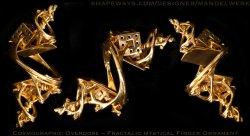 Cosmographic Overdose - Fractal Finger Ornament