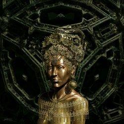 The queen of gems bronze version