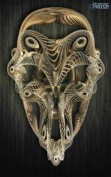 Filigrane Skull