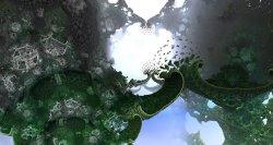 When a fractal bridge opens
