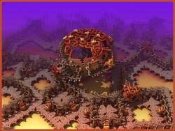 Trick or Treat Land (w/ jack-o'-lanterns)