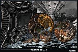 A tribute to M.C (Escher)