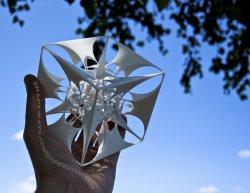 The Divine Sailor - 3D printed fractal artwork