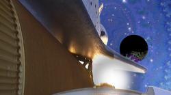 LAUNCH - HD Fractals & Atlantis STS-135 Launch