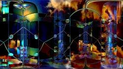 Color-glass condensate in Quark–gluon plasma