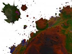 Algal life on asteroids