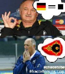 Scolari - Expectation <-> Reality #WorldCup #BrazilvsGermany