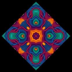 Mrs Hilll's Mandala.