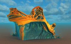 Mt. Taranaki where the golden moas nest