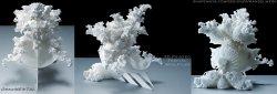 OrnaMENTAL 3D printed Fractal Sculpture - HIGH RES IMAGE