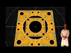 SPIN OFF - Mandelbox Apollonian Corner Iteration Visualised in 3d