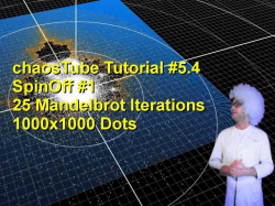 SPIN OFF - 1000x1000 Grid 25 Mandelbrot Iterations