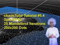 SPIN OFF - 200x200 Grid 25 Mandelbrot Iterations