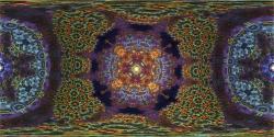 Caleidoscope Eye 4 - Panorama fractal
