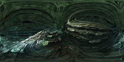 Fractal Omega Racer - Panorama fractal