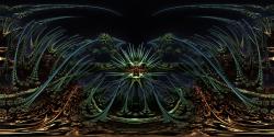 Amazing Box Platinum Bulb - Panorama fractal