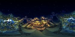 Golden Gates - Panorama fractal