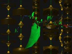 The Odd Green Leaf