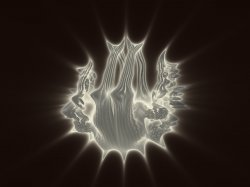 Mandelbulb Eclipse Of The Moon