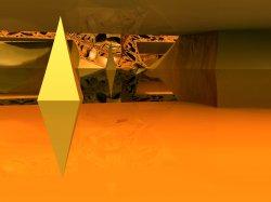 Fractal Flotsam - Floating Diamonds
