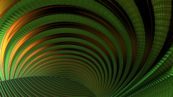 Ripples Gold and Green