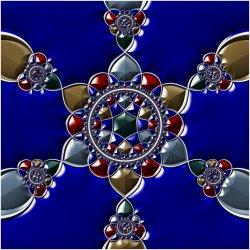 Jeweled Star