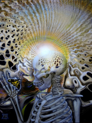"""""""Death, While Disintegrating, Contemplating the Synthesized Theory of Reincarnation\"""""""