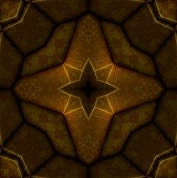 leather fractal pit