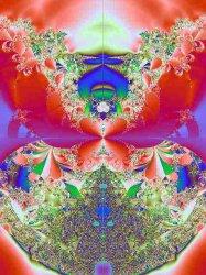 mandelbrot set in imaginary form