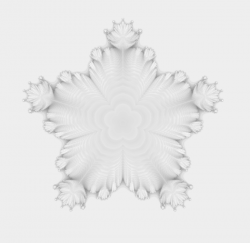 3D Mandelbrot Power 6