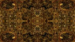 Gold beads tile