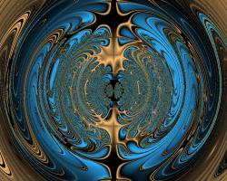 Fractal Planet IX
