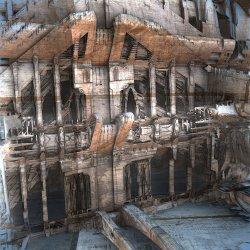 Crumbling Facade