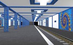 "Subway Station ""Benoit Mandelbrot Station"" [edited]"