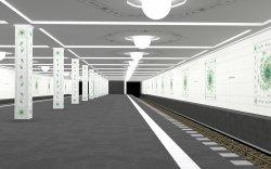 "Subway Station ""Gaston Julia Station"" [edited]"
