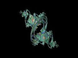 julia of a polynomial rotation