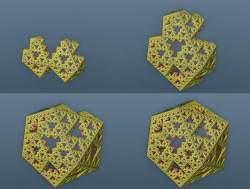 Fundamental triangle fold 0 to 3 prefolds