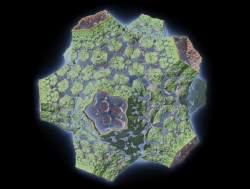 Fragmented icosa