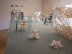 3D printed Fractal Sculptures Exhibited at Cuypershuis Architectural Museum