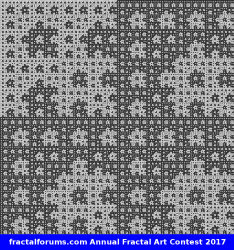 A discrete fractal for a change