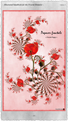 Papaver Fractale - Postcard