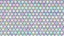 Équerre tiling dual : Truncated trihexagonal tiling