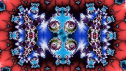 Inflection mappings Perpendicular Mandelbrot