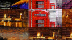a postcard from London