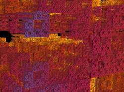 textured sierpinski