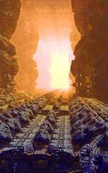 Tiberius space minings Shed